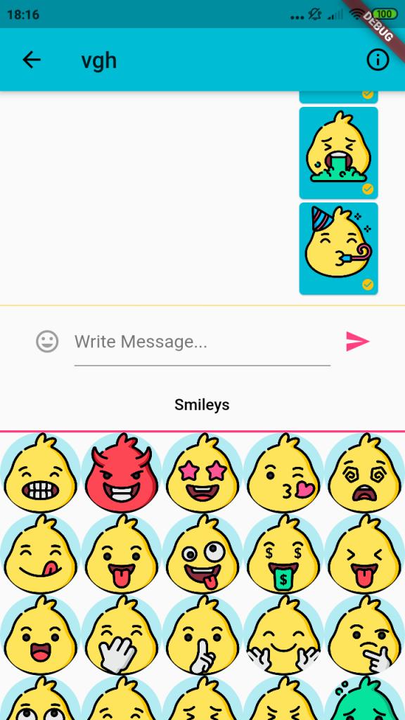 Emojis in QRChat